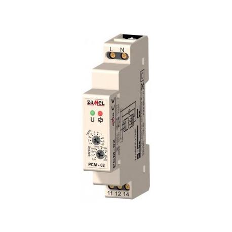 Relė PCM-02 230V/16A laiko