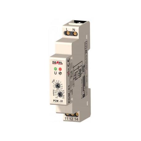 Relė PCM-01 230V/16A laiko