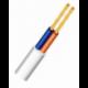 Lankstus ploščias varinis kabelis su PVC izoliacija H03VVH2-F