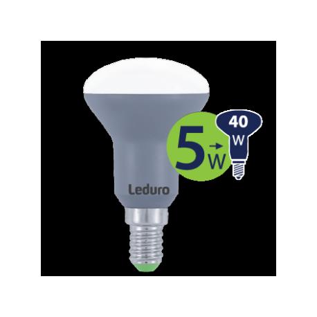 Lempa LED 5W E14 PL-R50-21169 Leduro