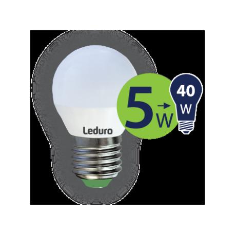 Lempa LED 5W E27 PL-G45-21183 Leduro