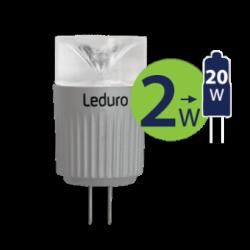 Lempa LED 2W G4 12V BIPINP PL-G4-21050 Leduro