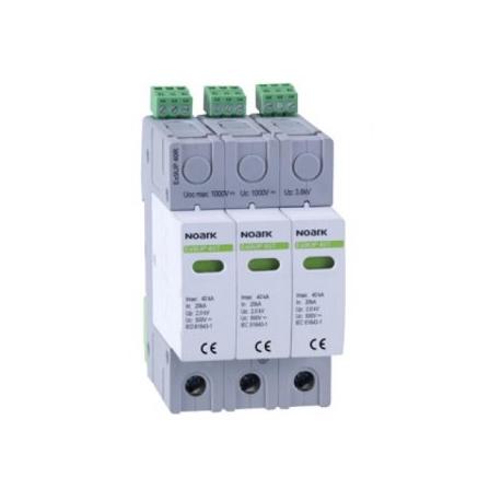 Viršįtampių ribotuvas Ex9UP 40R 3P 1000V DC