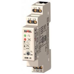 Relė CKM-01 230V/400V fazių sekos