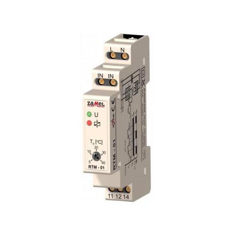 Relė RTM-01 230V/16A 5-40C temperatūros