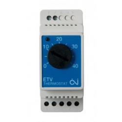 Termostatas ETV-1991 16A DIN temp.