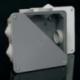 Dėžutė hermet. 167x167x78 IP54 10mm E90 (8117)