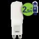 Lempa LED 2.5W G9 2700K PL-G9-21052 Leduro