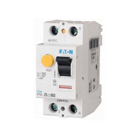 Automatinis srovės nuotėkio jungiklis PF6