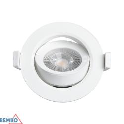 Šviest. LED ALIS 6W 4K apval. (DLA-AR-064-WH)
