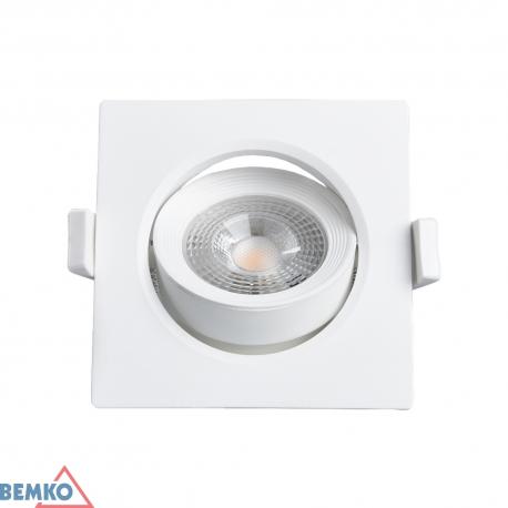 Šviest. LED ALIS 6W 4K kvarat. (DLA-AS-064-WH)