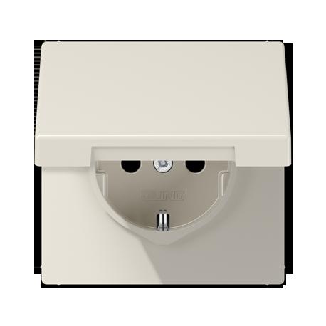 Kištukinis lizdas su dangteliu LS 990 serija