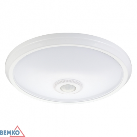 Šviest. LED DORIA 12W 4000K IP20 C38-ST57-124-PIR)