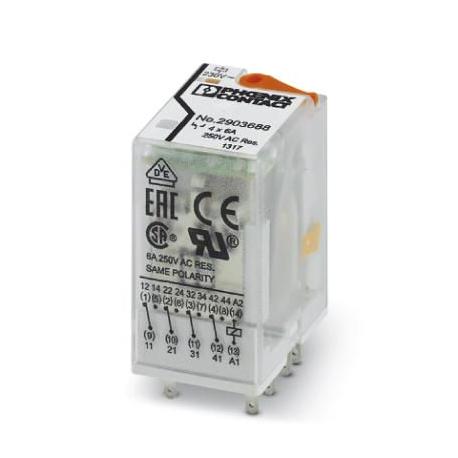 Relė REL-IR4/L-230AC/4x21 4CO 230VAC (55)