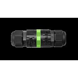 Jungtis WP3/L išard. 2P+PE 0,5-2,5mm2 IP68  tekox