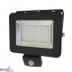 Prožektorius LED SMD IP65 PIR