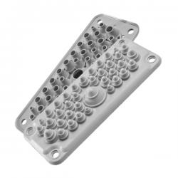 Sandariklis MC 35/37 IP66 daugiavietis RAL-7035