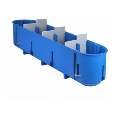 Dėžutė gipsk. P4x60D pagilinta mėlyna