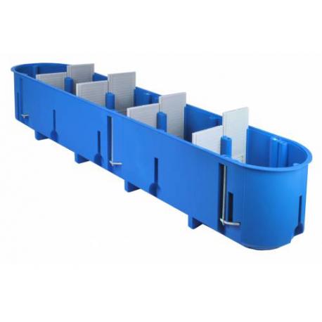 Dėžutė gipsk. P5x60D pagilinta mėlyna