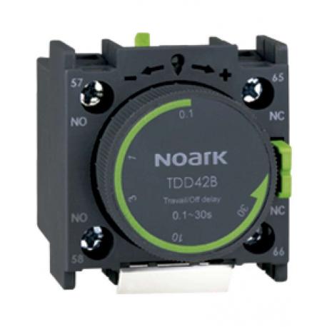 Papildomų kontaktų blokas TDD41B su laikrodžiu