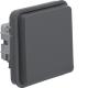 Perjungiklis 30763505 W.1 berker IP55 pilkas mat.