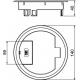 Grindinis kabelių išvadas GES R2 9011 7405084