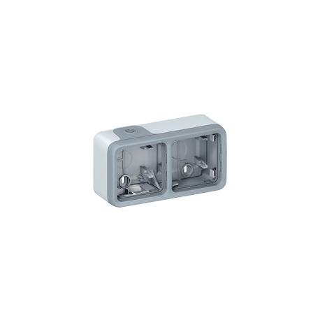 Adapteris 2v v/t IP55 Plexo