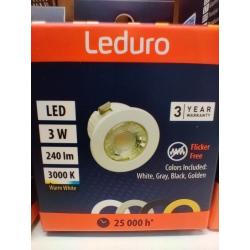 Lempa LED 3W 3000K LX-SLIM-94123 Leduro