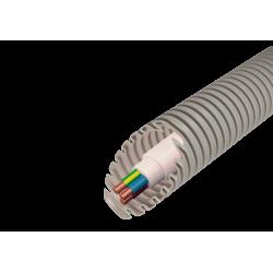 Vamzdis gofr. D16 su kabeliu 3x1.5 EVOEL SM (100m)