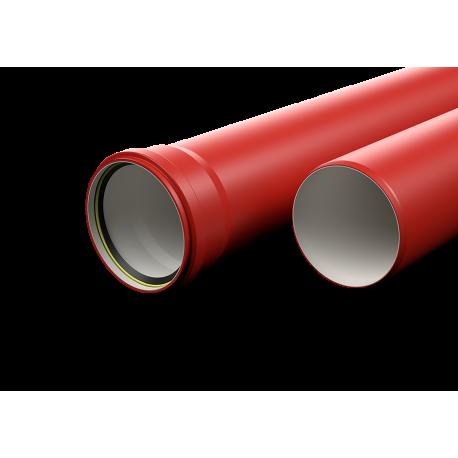 Vamzdis RIGID MULTI ELECTRO 110mm 750N 6m SRS raudon.-0H-SMART behalog 16mm (100m