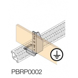 Laikiklis šynai PBRP0002 PE šyn.tvirtinti 2vnt.