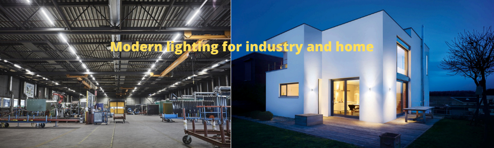 Modern lighting for industry and home