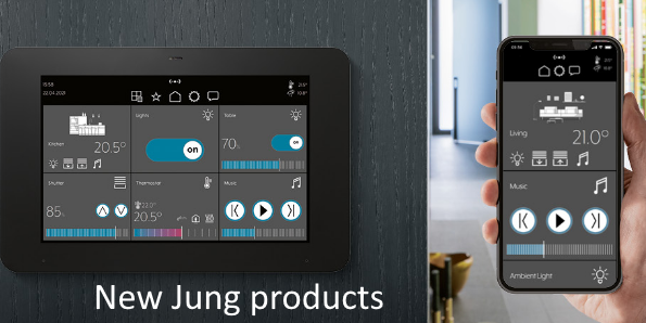 Jung new products